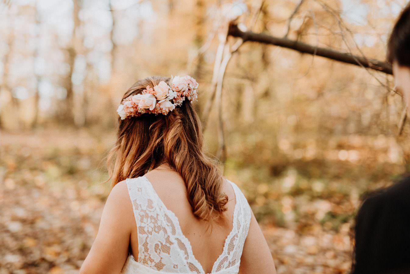 Braut Portrait Hochzeitspaarshooting