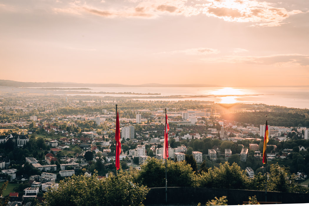 Ausblick vom Gebhardsberg