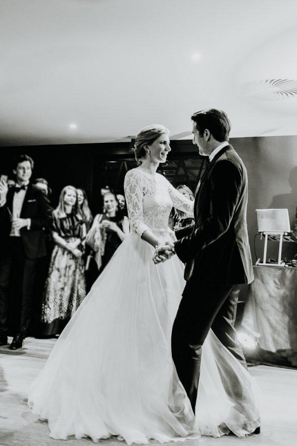Hochzeit im Montafon Brauttanz