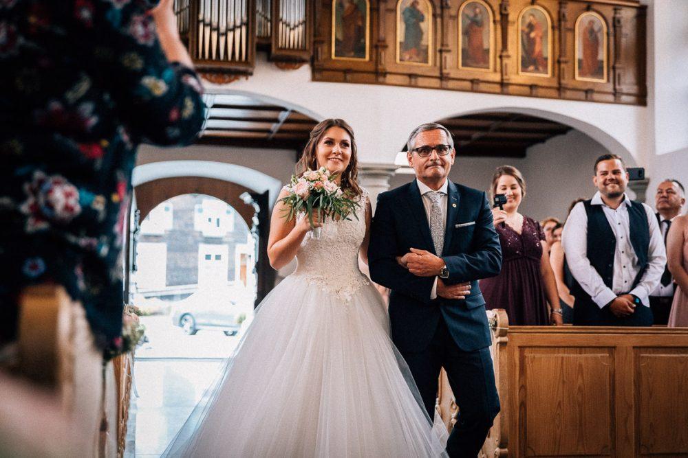Brauteinzug Hochzeit Bildstein