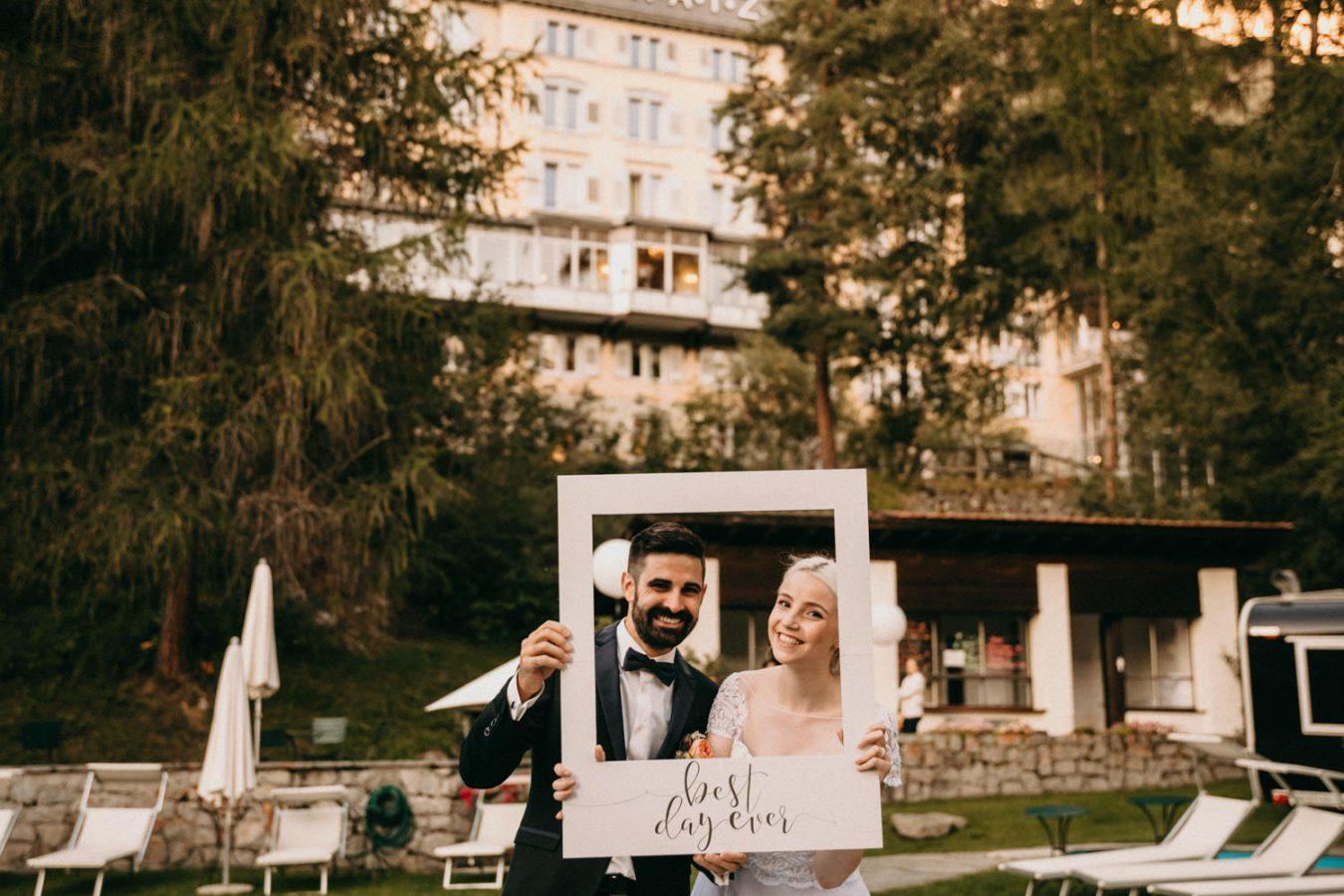 Hotel Saratz Wedding Inspirations