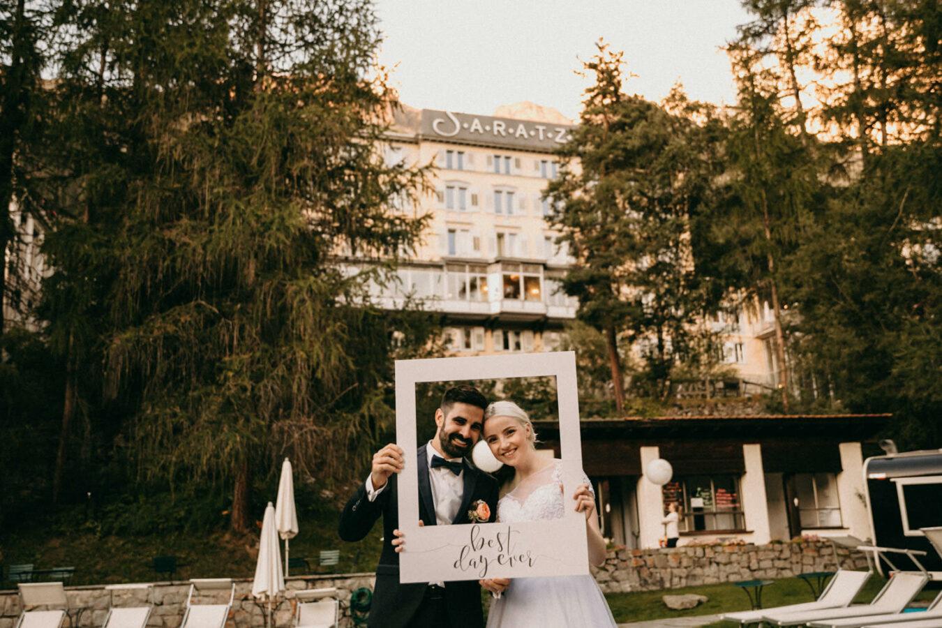 Hotel St. Moritz Hochzeit