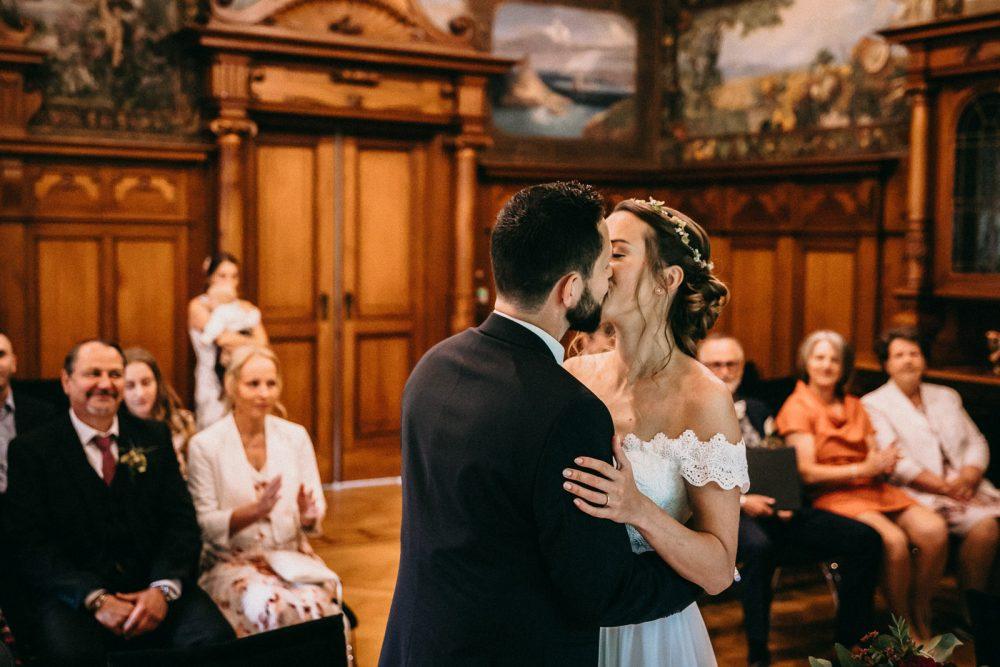 Hochzeit Trauung Villa Grünau