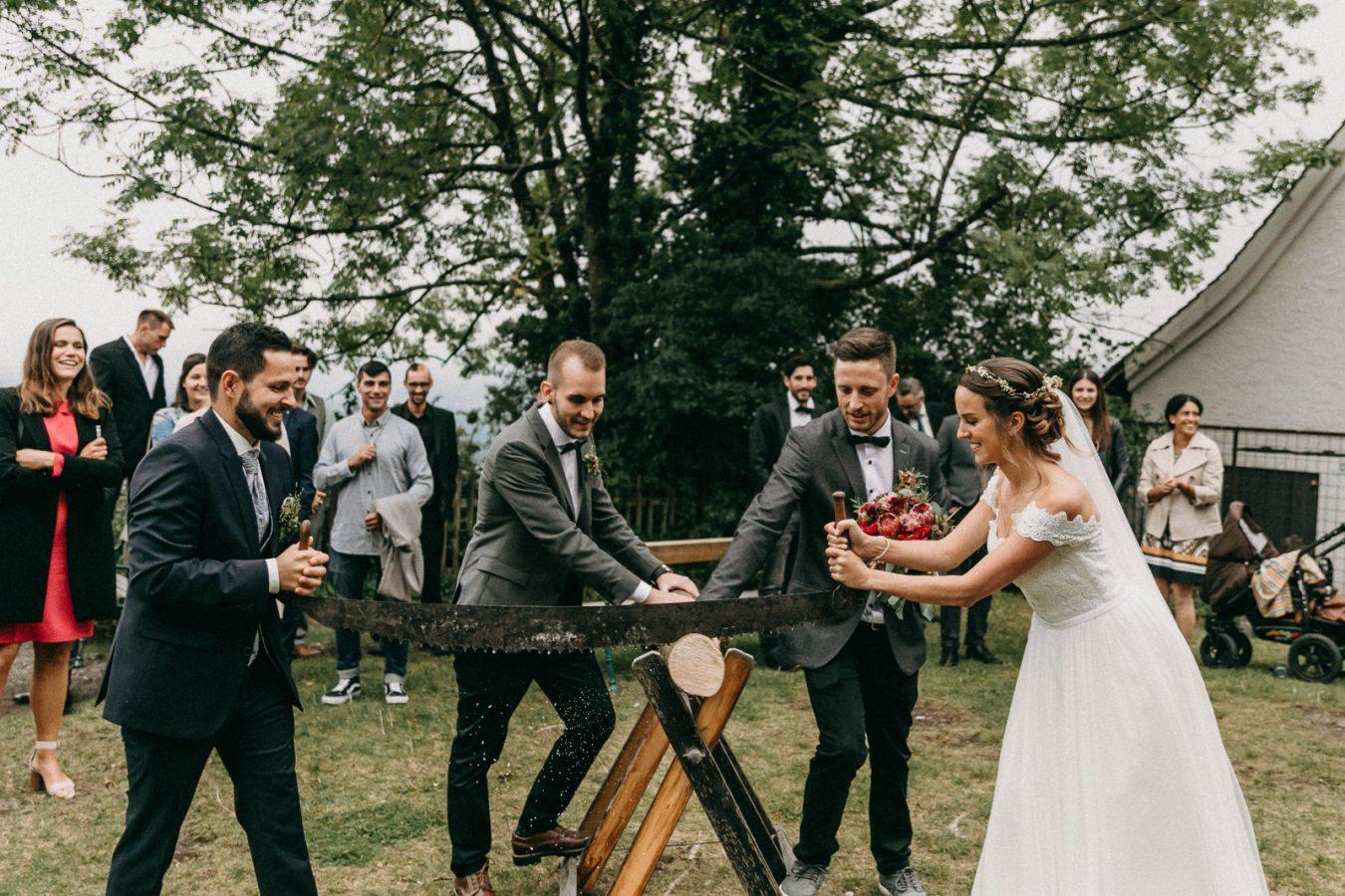 Hochzeitsfotografie Bregenz St. Gebhardsberg Hochzeitsbrauch