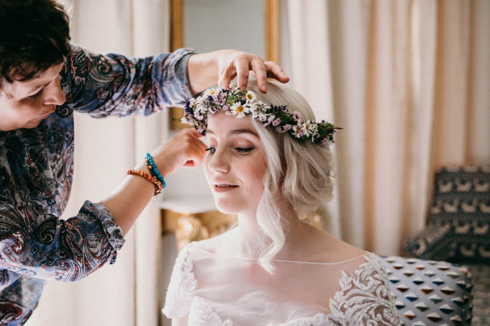 Hochzeit Schweiz Styling Hairstyle