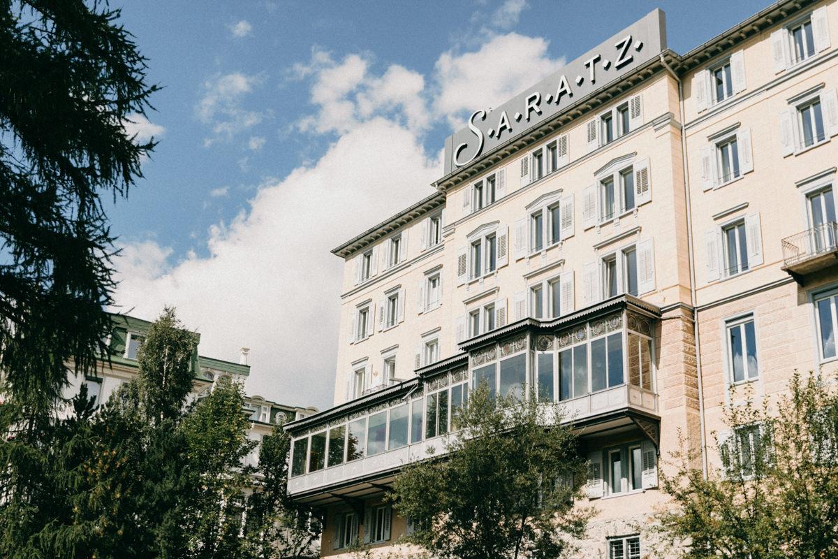 Hotel Saratz Ausblick