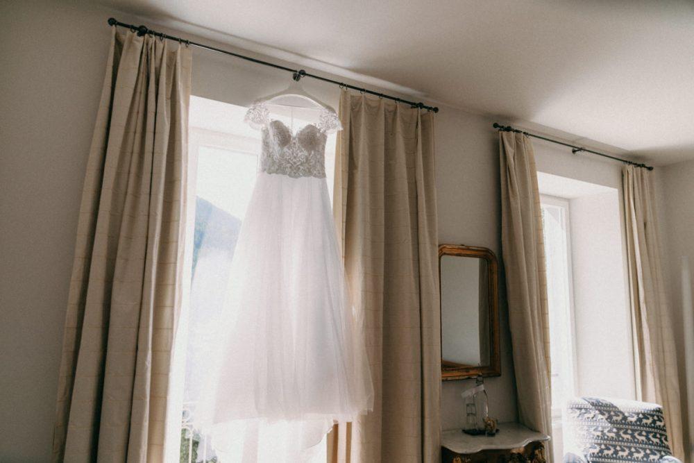 Hotel Saratz Schweiz Hochzeitskleid