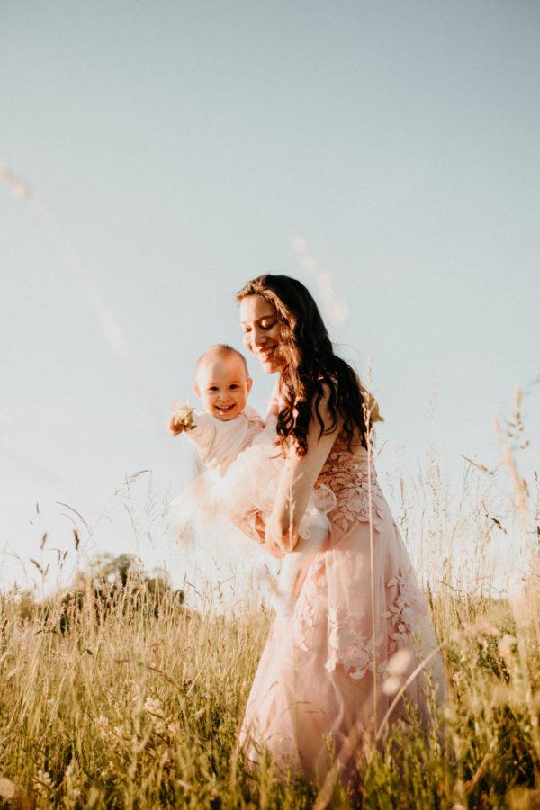 Mutter und Kind Foto